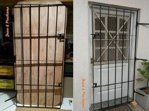 Puertas seguridad anuncios mayo clasf - Rejas correderas para puertas ...