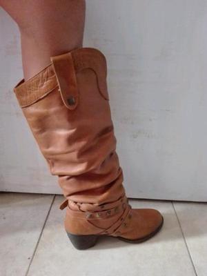 Vendo botas marrones