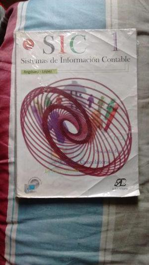 Vendo libro sic sistemas de información contable
