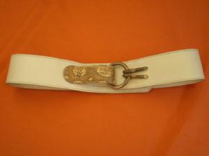 Vintage hipster original cinturon cuero y simil reptil 5564aebe52f6