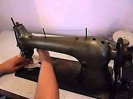 Maquina coser telas gruesas cuero y varios singer 96 40