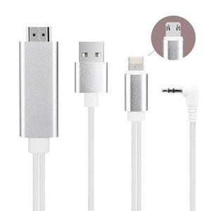 Cable hdmi mi hd adaptador usb type c tablet celular android