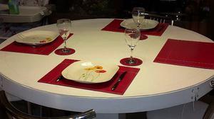 Mantel cubre mesa doble ecocuer, hasta 140 x 80 x 7