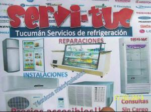 Servicio de refrigeración en aire acondicionado y reparó