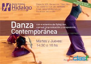 Clases de danza contemporánea mendoza 2018   tati conalbi