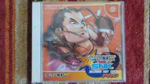 Capcom vs snk pro original sega dreamcast //excelente estado