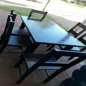 Juego de comedor sillas mesas nuevas