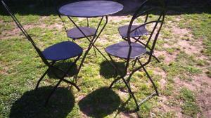 Juego sillas mesa plegables ofertas diciembre clasf for Muebles y sillones quilmes