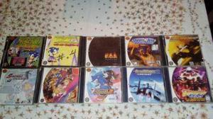 Juegos Sega Dreamcast Cd Plateados Teclado Original En Argentina