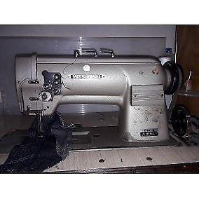 Maquina de coser mitsubishi recta doble arrastre dn-2