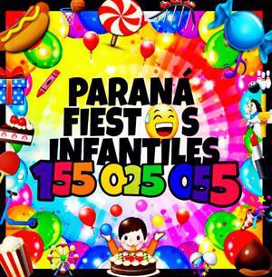 Paraná fiestas infantiles- juegos- peloteros - festejos