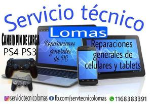 Reparacion pc escritorio notebook netbook celulares