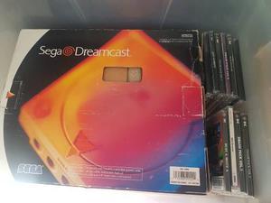 Sega dreamcast como nueva completa