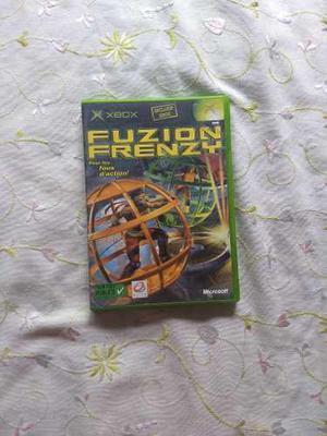Xbox primera generación - juego fuzion frenzy - como nuevo
