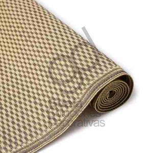 Alfombra carpeta tejida exterior lavable 180x120 cm ae941