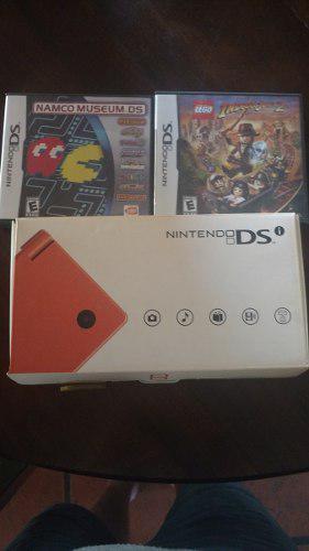 Nintendo dsi con 2 juegos
