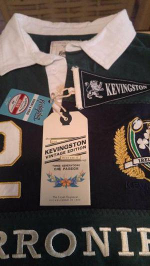 Remera original kevingston rugby & polo seleccion limitada