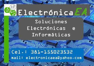 Soluciones electrónicas e informáticas.