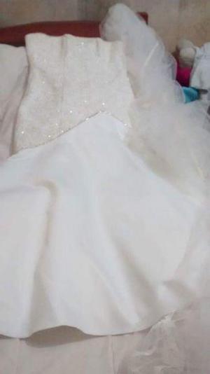 Vendo urgente vestido de novia