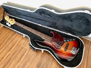 Bajo fender jazz bass american std usa sunburst c/estuche!