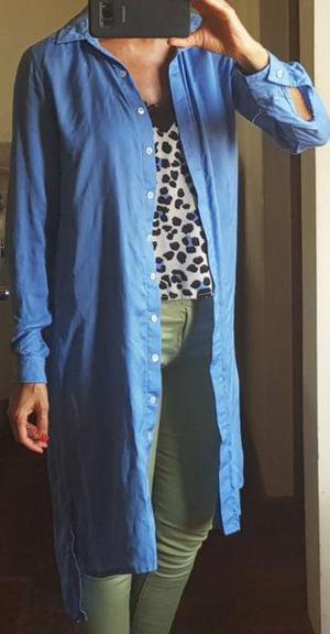 En Larga Camisa Argentina Rebajas Mujer Espolverino Tipo Kimono wXwTrx7qf5