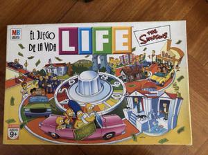 Life simpsons: el juego de la vida