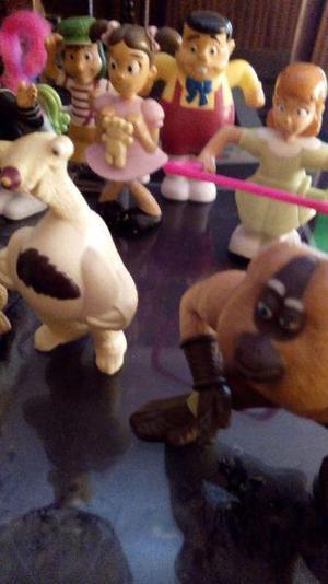 Lote juguetes macdonalds