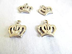 20 dijes coronas de metal bijou coronitas insumos
