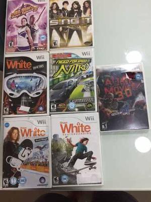 Combo de 7 juegos originales para nintendo wii