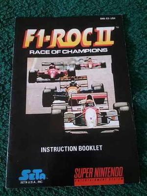 F1-roc 2 race of champions c/manual envios