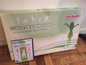 Oferta!! wii fit plus tabla de ejercicios + juego original!!