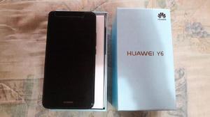 Vendo celular huawei y6 liberado negro impecable!