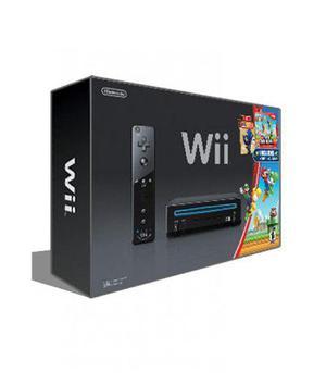 Wii con juegos, 2 controles, chipeada con rigido de 500gb