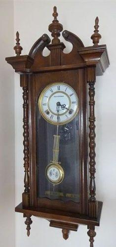 Antiguo reloj péndulo fornitex 31 days con sonería