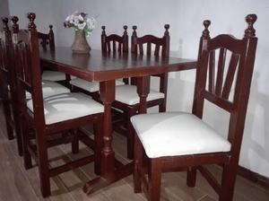Juego de comedor estilo colonial tapizado nuevo¡¡¡ en Argentina ...