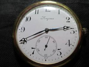 Reloj bolsillo, longines