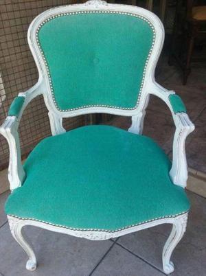 Precioso sillon de estilo / reciclado a nuevo