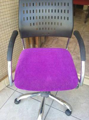 Sillon para escritorio con tapizado nuevo