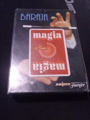 Baraja magia naipes fournier