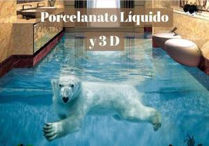 Cursos de porcelanato liquido 3d