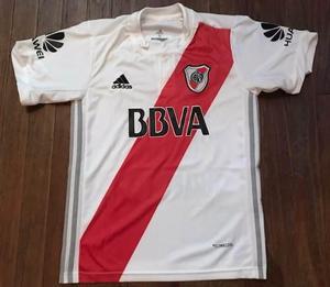 Camiseta de river plate nueva c botones torneo 2017/18 lisas