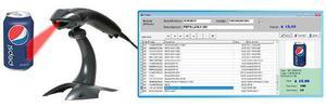 Lector código de barras + sistema control de stock y ventas
