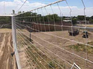 Redes contención futbol,tenis mallas perímetro.