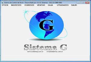 Sistema control de stock geststk v2: stock + ventas + caja