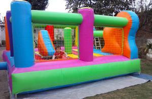 Alquiler de peloteros camas elásticas metegol inflables