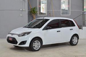 Ford fiesta ambiente 1.6l con gnc 2011 5ptas color blanco