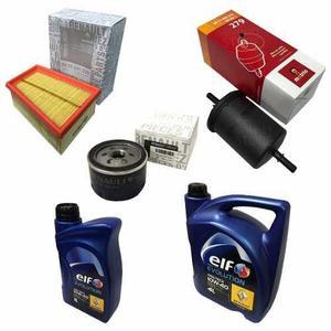 Kit filtros y aceite originales renault kangoo 1.6 16v k4m