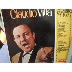 Long play cuatro joyas de música italiana de claudio villa