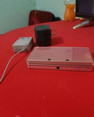 Nintendo 3ds con cargador