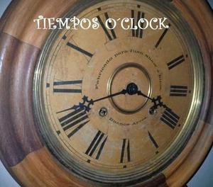 Relojes antiguos de pared y mesa tiemposoclock
